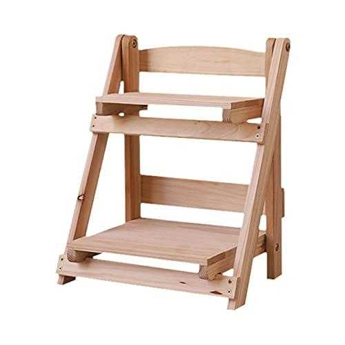 Seii 2 Etagen Holz Pflanzenständer,...