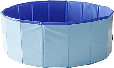 Fnho Engrosado Piscina Inflable para Niños,Piscina Infantil Desmontable,Baño para Mascotas al Aire Libre, Suministro de Agua plegable-120 x 30 cm