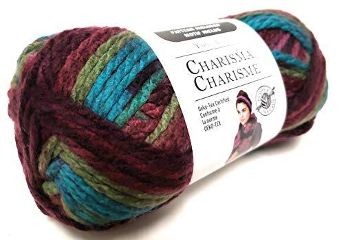 Loops & Threads Charisma Yarn - Mulberry Bush - 3.5 oz - One Ball