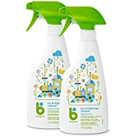 2-Pack Babyganics Toy & Highchair Cleaner Spray, 17oz