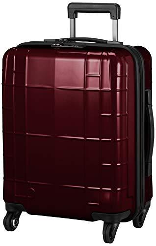 [プロテカ] スーツケース 100席以上持込み可能サイズ ストッパー付き 37L 3.0kg 静音キャスター 約1~3泊向け 日本製 スタリアCX 02151 保証付 51 cm ワイン