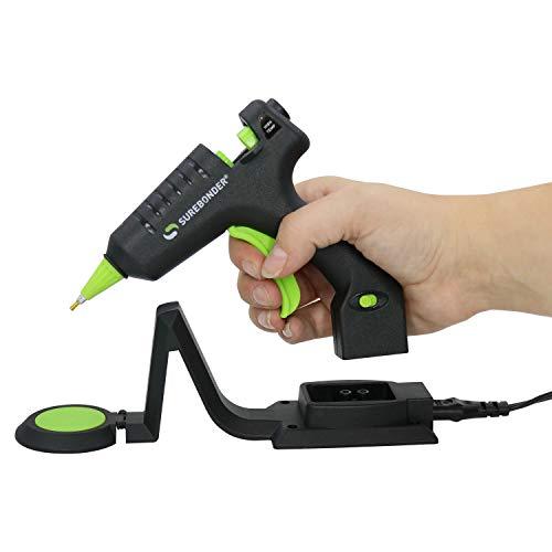 Surebonder CL-195F Cordless/Corded Detail Tip 20W High Temp Mini Glue Gun