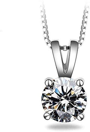 FACAIBA Collar Collar Mujer S Artículos exquisitos Corazones y Flechas Redondas Cuatro Garras Colgante de Diamante único Joyas para Mujeres Hombres Regalo