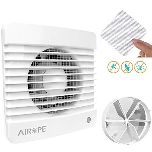 Airope,Ventilador extractor de baño aire 100 mm Silencioso