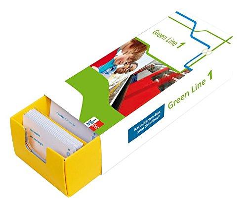 Green Line 1 für Klasse 5 an Gymnasien Bundesausgabe ab 2014 G8 und G9 - Vokabel-Lernbox zum Schulbuch: Englisch passend zum Lehrwerk üben: Karteikarten-Box zum Schulbuch