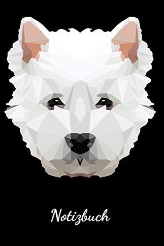 Notizbuch: Lustiges Hunde Design für Westie West Highland White Terrier Hundebesitzer | Eintragen von Notizen, Terminen, Aufgaben & Ideen | DIN A5 Liniert | Geschenk für Hundemama & Hundepapa