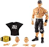 WWE Ultimate Edition Wave 10 John Cena Action Figure 6 in with Interchangeable Entrance JacketLanternExtra Head and Swappable Hands for Ages 8 Years Old and Up