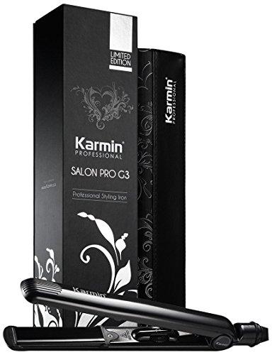 Karmin G3 Salon Pro, Plancha de Pelo Profesional, Negro