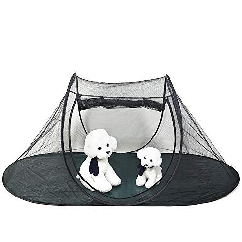 Tienda de campaña para mascotas, gato, perro, casa, jaula, perrera para cachorros, corralito, tienda de campaña plegable, valla con bolsa de transporte para mascotas, perrera interior al aire libre