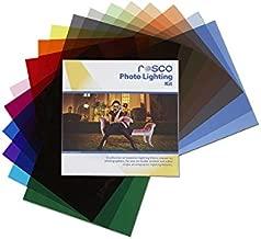 """Rosco Photo Lighting Filter Kit, 12 x 12"""" Sheets"""