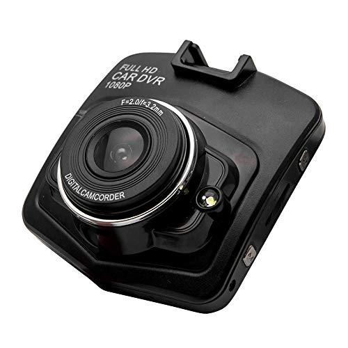 Grabador de Conducción con Visión Nocturna Súper de 2,4 Pulgadas 1080P LCD Versión Full HD, Aplicación de Monitoreo de Estacionamiento con Detección de Movimiento con Lente Gran Angular de 120 °