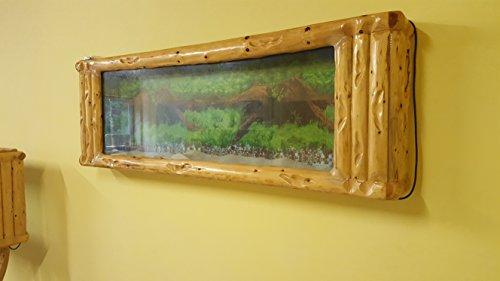 Wandaquarium-Frame Forest Wood 180, Panorama Aquarium – Wall Aquarium - 2