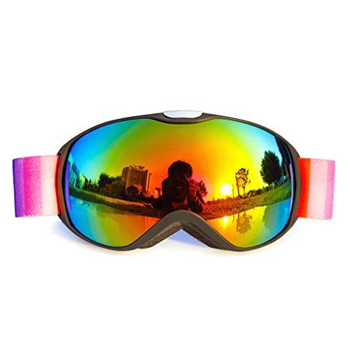 RWX Gafas De Esquí para Niños, Gafas Anti-Niebla De Doble Capa Esférica, Gafas De Coca Myopia Anti-Ultravioleta Ski Ski Goggles (Color : M-4)
