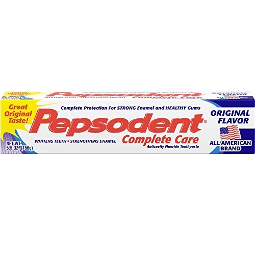 Pepsodent Complete Care Toothpaste Original Flavor 5.5 oz by Pepsodent