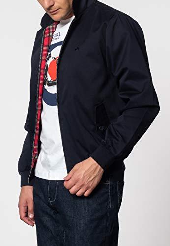 Merc Harrington, Chaqueta de Manga Larga Para Hombre, Azul (Navy), X-Large
