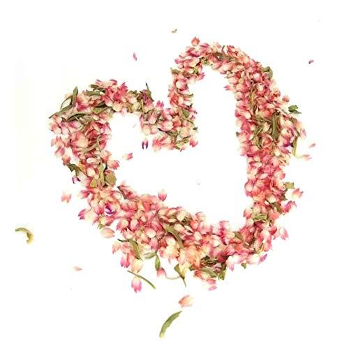 WANGYA Getrocknete Blumen 10g / Tasche getrocknete rote Blume blütenblätter für Handwerk lesezeichen Karten Machen handgemachte seiap Harz DIY zubehör Blumen getrocknet strauß