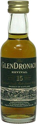 The Glendronach Whisky 15 Jahre 0,05l Miniatur - Highland Single Malt Scotch Whisky