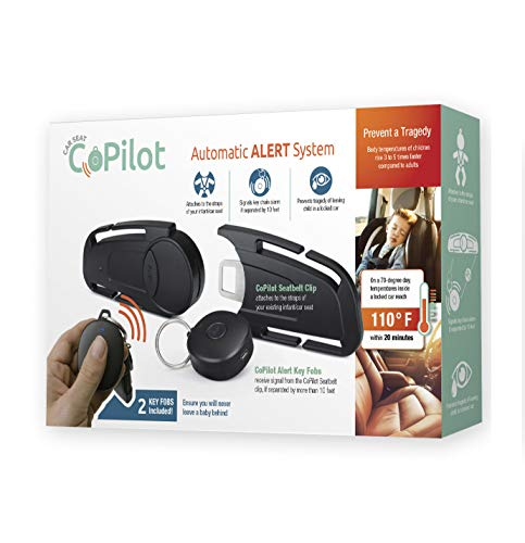 CoPilot Car Seat Baby Alert (for All Kids in Car Seats) Image