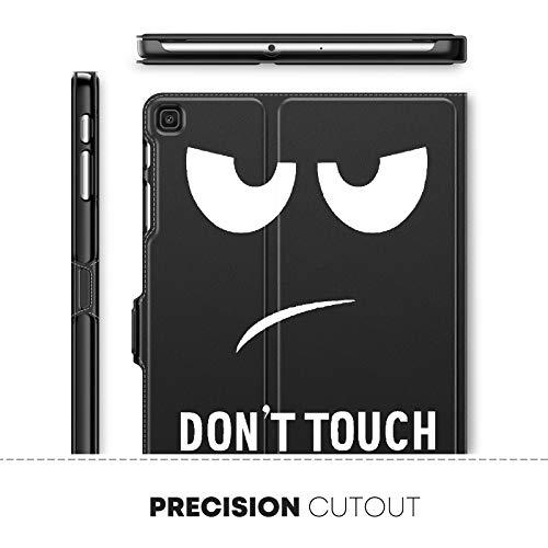 INFILAND Hülle für Samsung Galaxy Tab A 10.1 2019, Slim Ultraleicht Halten Schutzhülle Hülle kompatibel mit Samsung Galaxy Tab A 2019 (T510/T515) 10.1 Zoll,Don't Touch