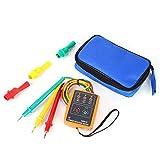Tester di Sequenza, Tester Trifase con Indicatore di Rotazione dell'ordine di Sequenza 60 V ~ 600 V (CA, trifase) Indicatore Misuratore Rilevatore Multicolore 20 Hz-400 Hz