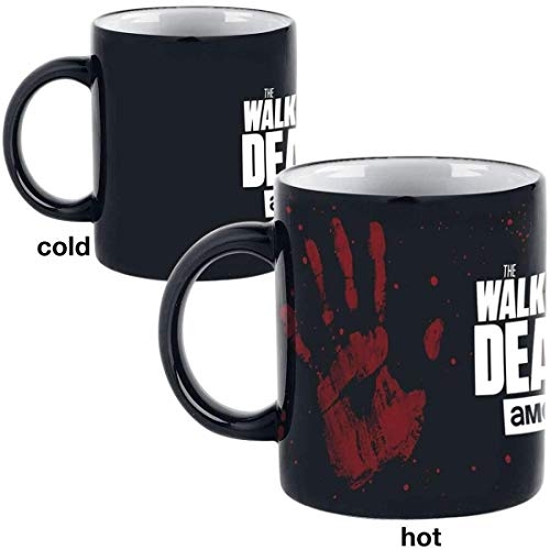 The Walking Dead Hand - Heat Change Mug Tasse Standard