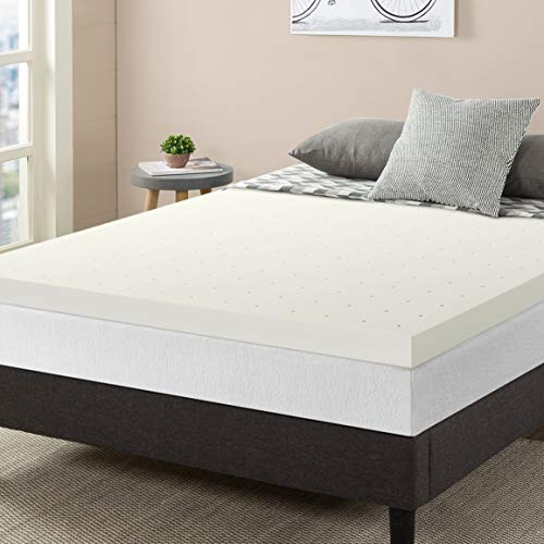 Best Price Mattress 3 Inch Ventilated Memory Foam Topper Mattress Pad, CertiPUR-US Certified, Queen