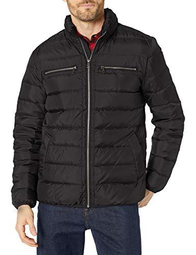 Cole Haan Signature Men's Packable Down Jacket, Black, Medium