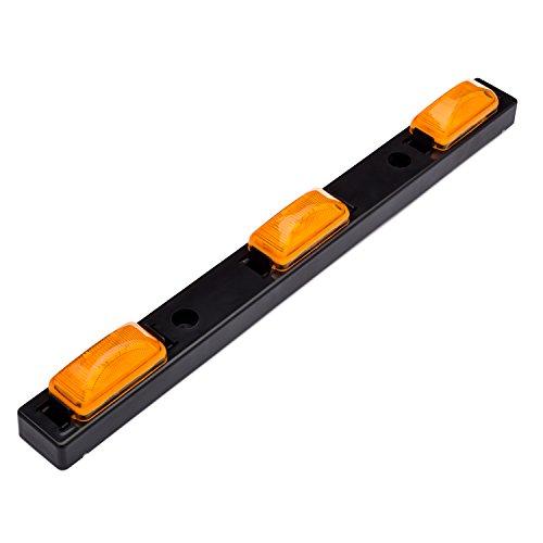 Lumitronics RV Sealed 3 Piece Identification Light Bar (Amber)