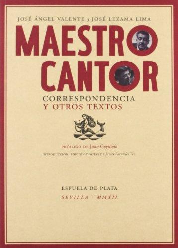 Maestro cantor. Correspondencia y otros textos: 24 (Otros títulos)