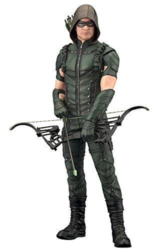 DC Comics SV181 Arrow TV Series Artfx Plus - Estatua, Color Verde