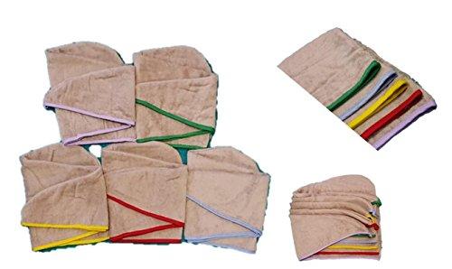 100% algodón secado rápido pelo toalla