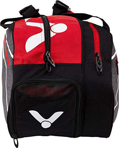 Victor Double Thermal Badminton Bag / Tennis Bag - Various Colours Available, red