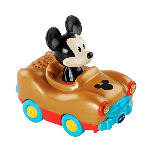 Vtech 80-512504 Tut Tut Baby Flitzer - Mickys magisches Auto, Babyautos, Mehrfarbig