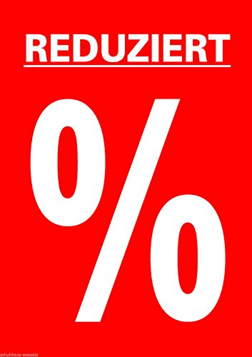 5 Stück DIN A1 Plakate Werbe Poster f. Kundenstopper