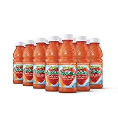 Contains fifteen (15) 10 oz. bottles of Tropicana Strawberry Orange Flavored Juice Blend Tropicana Strawberry Orange Juice is the perfect beverage to pack in lunches or drink on the go Add Strawberry Orange to your daily routine for a delicious and c...