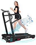 Treadmills for Home, 3.25 HP Electric Incline Treadmill with Bluetooth Speaker for Cardio Training Running Walking Jogging Machine for Office Home Work Out - 2021 Updated Version