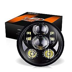powerful SEALIGHT 5-3 / 4 5.75 Harley-Davidson Bike LED Headlights LED Projector Headlights