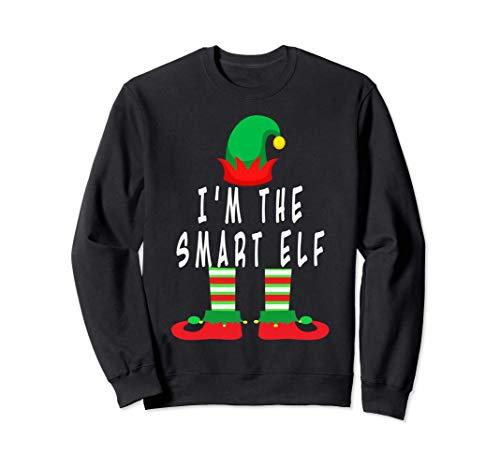 Ich bin der kluge Elf, Familiengruppe Santa Christmas Holid Sweatshirt