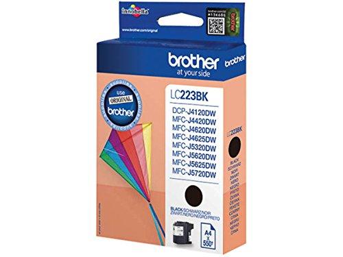 Brother original - Brother MFC-J 4620 DW (LC-223 BK) - Tintenpatrone schwarz - 550 Seiten - 11,8ml