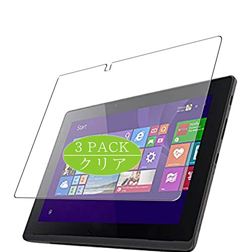 Vaxson 3-Pack Screen Protector Compatible with Aspire Switch 10 E SW3-013-N12P / K 10', HD Film Protector [NOT Tempered Glass] Flexible Protective Film