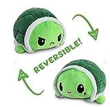 VigorY Tortue double face pliable en peluche double face Poulpe Jouet créatif Convient pour toutes les vacances pour fournir des surprises pour bébés, filles, garçons (2 tortues)