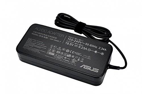 ASUS 0A001-00260600 Power Adapter & Inverter 180 W Black – Power Adapters & Inverters (Interior, 19.5 V, 180 W, Laptop, Asus G55VW, G75VW, G75VX, G46VW, G750JX, G750JW, G750JM, G750JS, Black)