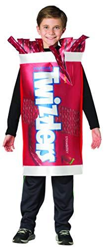 Hershey's Twizzlers Licorice Kids Costume Girls Boys Fun Hershey Candy Size 7-10