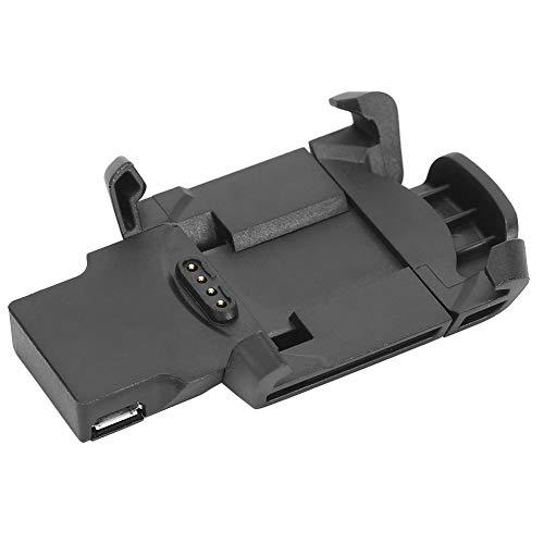 Cargador para Garmin Fenix 3 HR,base de carga de sincronización de datos USB portátil, cargador, clip, cable de carga con interfaz 700MA, para reloj inteligente Garmin Fenix 3 HR/Fenix 3 Sapphi