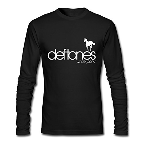 HEJX Men's Deftones Rock Band White…