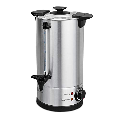 30 Litre Electric Stainless Steel Catering Hot Water Boiler Tea Urn Commercial