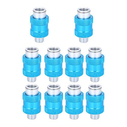 Válvula deslizante de rosca HSV ‑ 12 de 10 piezas para herramientas neumáticas