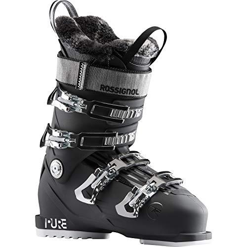 Rossignol Pure Pro 80 dames skischoenen, Soft Black, 22.5