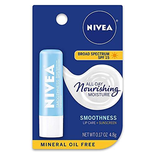 NIVEA Smoothness Broad Spectrum SPF 15 Sunscreen Lip Care