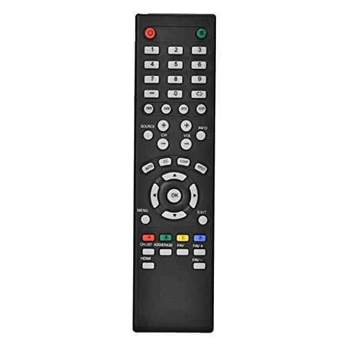 Goshyda Télécommande TV, télécommande Universelle Noire, Remplacement de la télécommande TV pour SEIKI